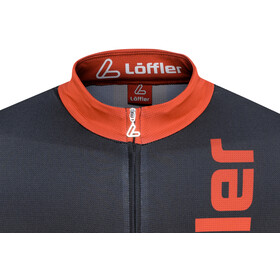 Löffler Racing Miehet Pyöräilypaita lyhythihainen , punainen/musta